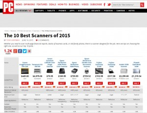 top ten scanners 2015