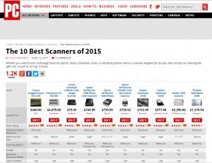 top ten scanners 2015